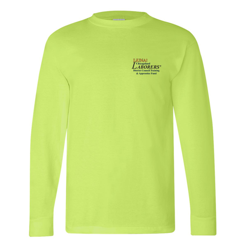 LiUNA Chicagoland District Council Training and Apprentice Fund long sleeve tshirt