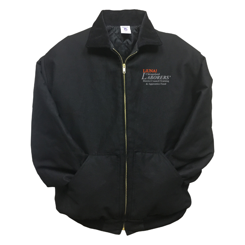 LiUNA Chicagoland District Council Training and Apprentice Fund insulated jacket